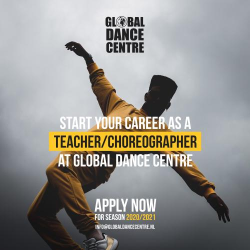 START YOUR CAREER AS A TEACHER/CHOREOGRAPHER AT GDC